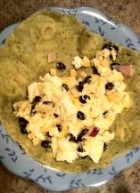 egg white burrito