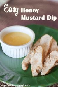 Chicken and honey mustard