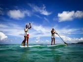 outside paddle