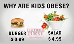 healthy food vs burger