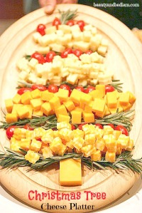 xmas cheese tree